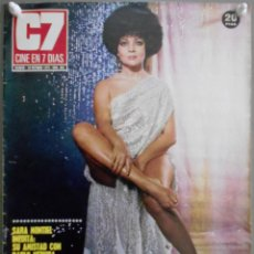 Cine: XG18 SARA MONTIEL REVISTA ESPAÑOLA C7 CINE EN 7 DIAS OCTUBRE 1973. Lote 67523737