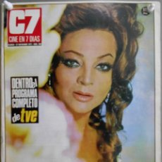 Cine: XG21 SARA MONTIEL REVISTA ESPAÑOLA C7 CINE EN 7 DIAS NOVIEMBRE 1971. Lote 67524061