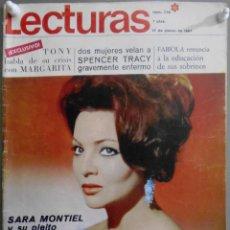 Cinema: XG23 SARA MONTIEL REVISTA ESPAÑOLA LECTURAS MARZO 1967. Lote 67525573