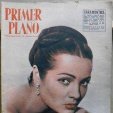 Cine: XG34 SARA MONTIEL REVISTA ESPAÑOLA PRIMER PLANO MAYO 1957. Lote 71813577