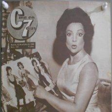 Cine: XG39 SARA MONTIEL REVISTA ESPAÑOLA CINE EN 7 DIAS OCTUBRE 1963. Lote 67596201