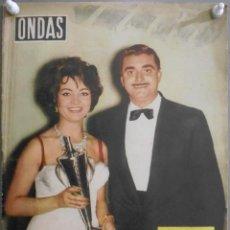 Cine: XG46 SARA MONTIEL REVISTA ESPAÑOLA ONDAS SEPTIEMBRE 1958. Lote 67598285