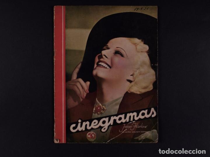 REVISTAS CINEGRAMAS 1936 Nº 84 (Cine - Revistas - Cinegramas)