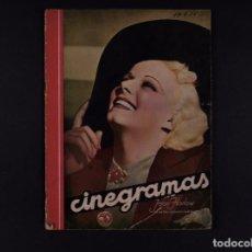 Cine: REVISTAS CINEGRAMAS 1936 Nº 84. Lote 68019301