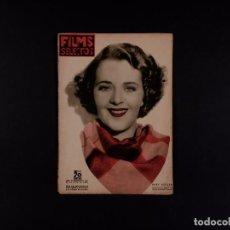 Cine: REVISTA FILMS SELECTOS 1936 Nº 301. Lote 68021317