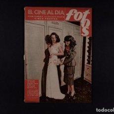 Cine: REVISTA FOTOS, EL CINE AL DIA 1947 Nº 563. Lote 68095201