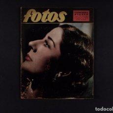 Cine: REVISTA FOTOS 1957 Nº 1.076. Lote 68095505