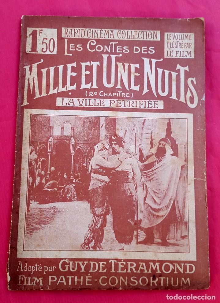 CINE MUDO - FILM PATHÉ - 1922 - LES CONTES DES MILLE ET UNE NUITS (Cine - Revistas - Otros)
