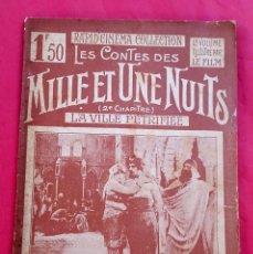 Cine: CINE MUDO - FILM PATHÉ - 1922 - LES CONTES DES MILLE ET UNE NUITS. Lote 68279673