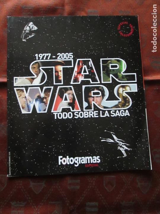 REVISTA-ESPECIAL PARA COLECCIONISTAS-STAR WARS(1977-2005)-FOTOGRAMAS ESPECIAL-VER FOTOS. (Cine - Revistas - Star Ficcion)