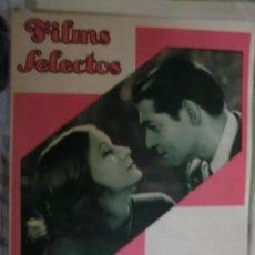 Cine: FILMS SELECTOS Nº 132 CLARK. GABLE. Y GRETA GARBO. Lote 68672237