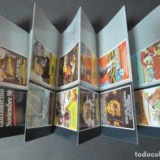 Cine: FOLLETO VIDEO VHS IVEX SIN PISTAS PACTO DE SANGRE DARTACAN DANIYA LA VIDA PRIVADA DE SHERLOCK HOLMES. Lote 68709985