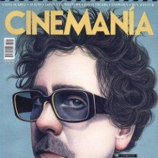 Cine: CINEMANIA N. 253 OCTUBRE 2016 - EN PORTADA: TIM BURTON (NUEVA). Lote 68886469