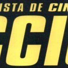 Cine: LOTE 10 REVISTAS 'ACCION' A ELEGIR (NUEVAS). Lote 84476739