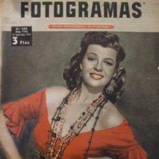 Cine: REVISTA FOTOGRAMAS N: 250 - 1953. Lote 68996697