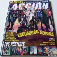 Cine: ACCION Nº 1608 - AGOSTO 2016 ESCUADRON SIUCIDA ( SIN POSTERS ). Lote 69597945