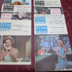 Cine: FILM IDEAL (8 REVISTAS) - NOS. 141, 142, 143, 144, 145, 146, 150 Y 201 AL 204 (ESTOS EN 1 REVISTA). Lote 69671513