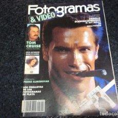 Cine: FOTOGRAMAS Nº 1760 FEBRERO 1990 - DESPLEGABLE ARNOLD SCHWARZENEGGER.. Lote 70060441