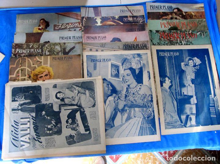 LOTE DE 50 REVISTAS PRIMER PLANO, 1948 - 1963. (Cine - Revistas - Primer plano)