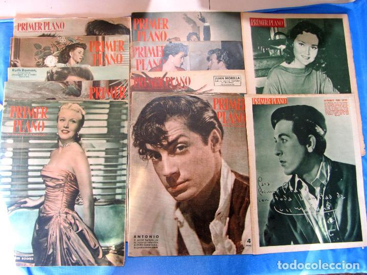 Cine: LOTE DE 50 REVISTAS PRIMER PLANO, 1948 - 1963. - Foto 2 - 70073561