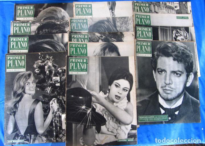 Cine: LOTE DE 50 REVISTAS PRIMER PLANO, 1948 - 1963. - Foto 4 - 70073561