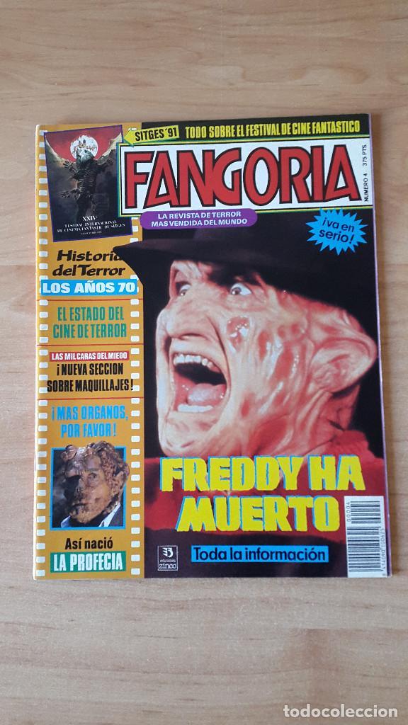 REVISTA FANGORIA Nº4. SITGES 91. FREDDY KRUEGER ELM STREET. HISTORIA DEL TERROR AÑOS 70S VER FOTOS (Cine - Revistas - Fangoria)