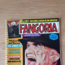 Cine: REVISTA FANGORIA - SITGES 91 - FREDDY KRUEGER - ELM STREET - HISTORIA DEL TERROR AÑOS 70S VER FOTOS. Lote 70287349