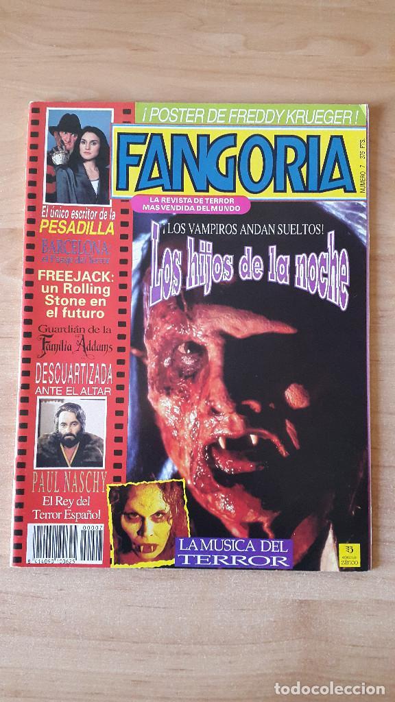 REVISTA FANGORIA - FREDDY KRUEGER - LOS HIJOS DE LA NOCHE - FAMILIA ADAMS - VER FOTOS (Cine - Revistas - Fangoria)