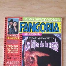 Cine: REVISTA FANGORIA - FREDDY KRUEGER - LOS HIJOS DE LA NOCHE - FAMILIA ADAMS - VER FOTOS. Lote 70295097