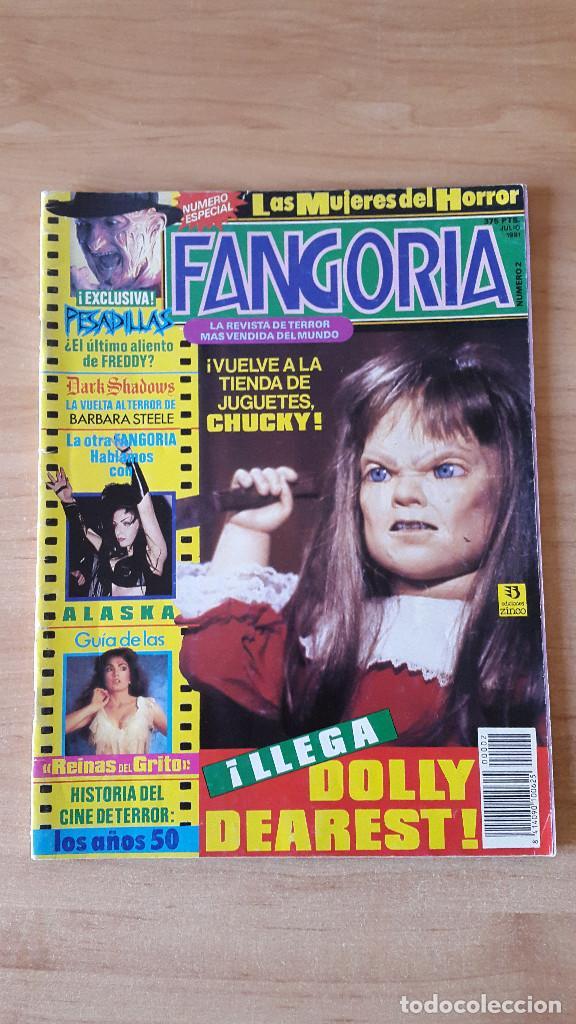 REVISTA FANGORIA - FREDDY KRUEGER - CHUCKY - HISTORIA CINE TERROR AÑOS 90S - VER FOTOS (Cine - Revistas - Fangoria)