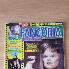 Cine: REVISTA FANGORIA - FREDDY KRUEGER - CHUCKY - HISTORIA CINE TERROR AÑOS 90S - VER FOTOS. Lote 70295141