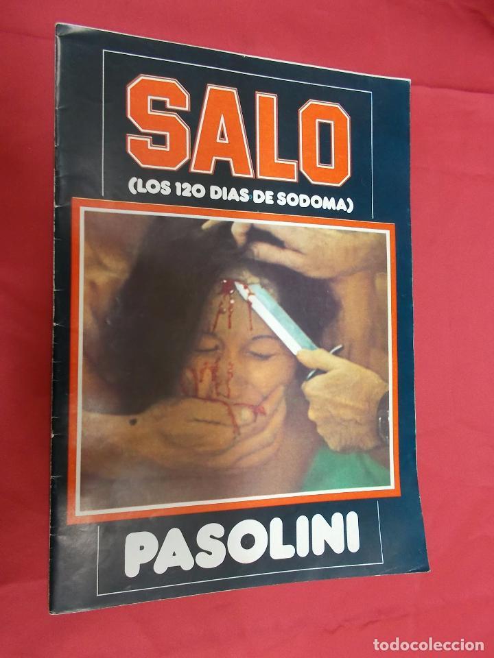 SALO O LOS 120 DIAS DE SODOMA. PASOLINI. EDITA MIRASIERRA 1977. (Cine - Revistas - Otros)