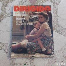 Cine: DIRIGIDO POR Nº 65, ANDRE DELVAUX,CINE Y MOVIMIENTO OBRERO,BIGAS LUNA. Lote 71523603