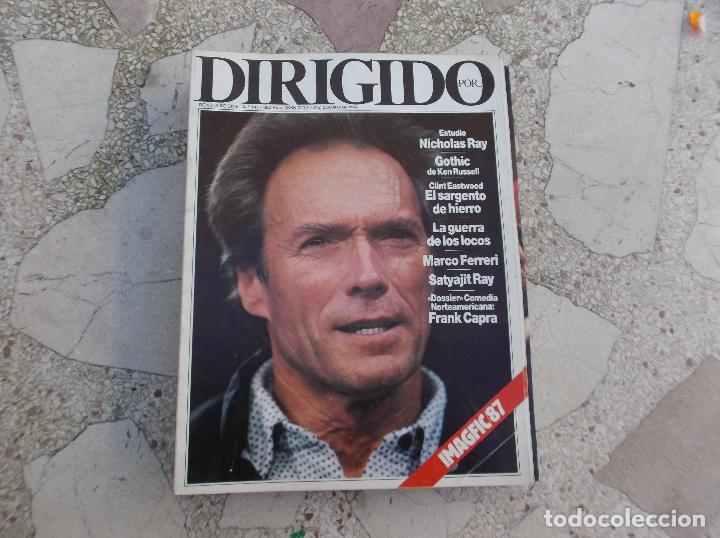 DIRIGIDO POR Nº 147,NICHOLAS RAY,GOTHIC/KEN RUSSELL,LA GUERRA DE LOS LOCOS (Cine - Revistas - Dirigido por)