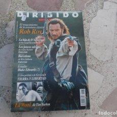 Cine: DIRIGIDO POR Nº 235,ROB ROY,LA HIJA DE D´ARTAGNAN,LOS JUNCOS SALVAJES,BARCELONA . Lote 103361298