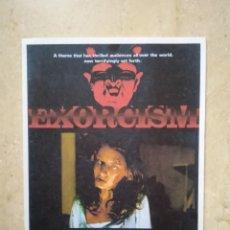 Cinema: REPRODUCCION 9*13 - EXORCISMO - TERROR - PAUL NASCHY. Lote 71576427