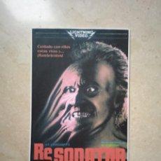 Cinéma: REPRODUCCION 9*13 - RE-SONATOR - TERROR - GORE. Lote 71576431