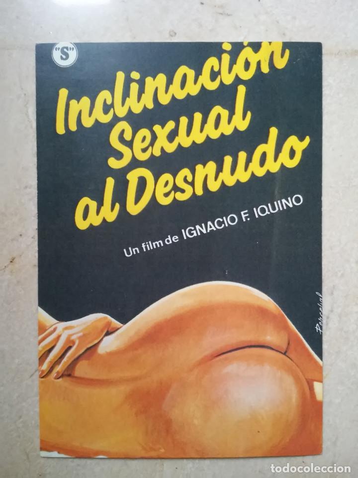 REPRODUCCION 10*15 - INCLINACION SEXUAL AL DESNUDO - CLASIFICADA S - CINE ESPAÑOL - IGNACIO IQUINO (Cine - Reproducciones de carteles, folletos...)
