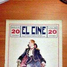 Cine: REVISTA POPULAR ILUSTRADA EL CINE. 1924. FERNANDO BARANGO-SOLIS. Lote 72109399