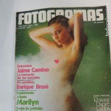 Cine: NUEVO FOTOGRAMAS Nº 1499 JULIO 1977 - SILVIA AGUILAR (PORTADA) JAIME CAMINO MAE WEST ROXANA DUPRE. Lote 72128463