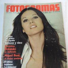 Cine: NUEVO FOTOGRAMAS Nº 1489 1491 ABRIL MAYO 1977 - TERESA RABAL (PORTADA) POLANSKI MIGUEL BOSE IQUINO. Lote 72130407
