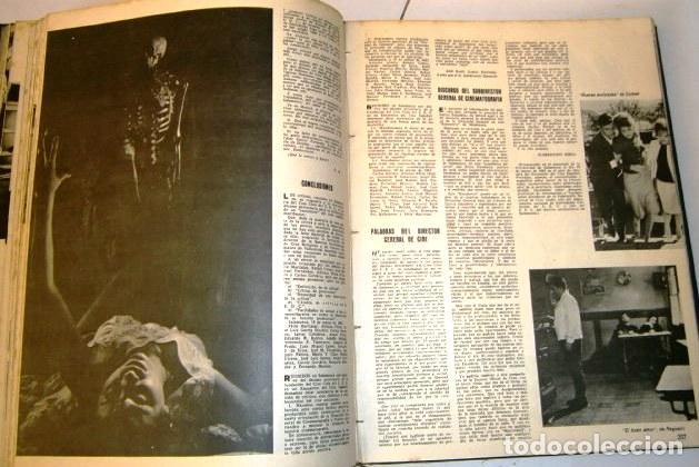 Cine: 3 Tomos con revistas variadas encuadernadas Film Ideal en Madrid 1961 / 1964 - Foto 4 - 72169367