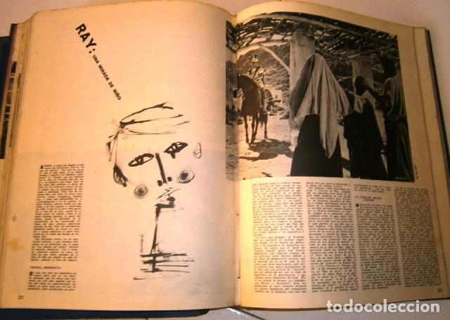 Cine: 3 Tomos con revistas variadas encuadernadas Film Ideal en Madrid 1961 / 1964 - Foto 7 - 72169367