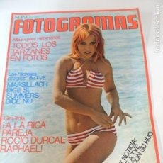 Cine: NUEVO FOTOGRAMAS Nº 1323 FEBRERO 1974 - VICTORIA VERA (POSTER) TARZAN FRANK ZAPPA LOPEZ VAZQUEZ. Lote 72288851
