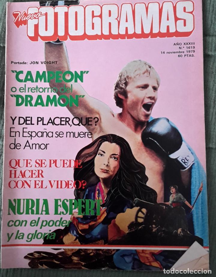 REVISTA FOTOGRAMAS - Nº1619 - NOVIEMBRE 1979 (Cine - Revistas - Fotogramas)