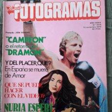 Cine: REVISTA FOTOGRAMAS - Nº1619 - NOVIEMBRE 1979. Lote 72312951