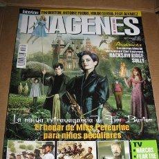 Cine: REVISTA IMAGENES Nº371 (EN PORTADA:EL HOGAR DE MISS PEREGRINE...) LEER DESCRIPCION. Lote 72667347