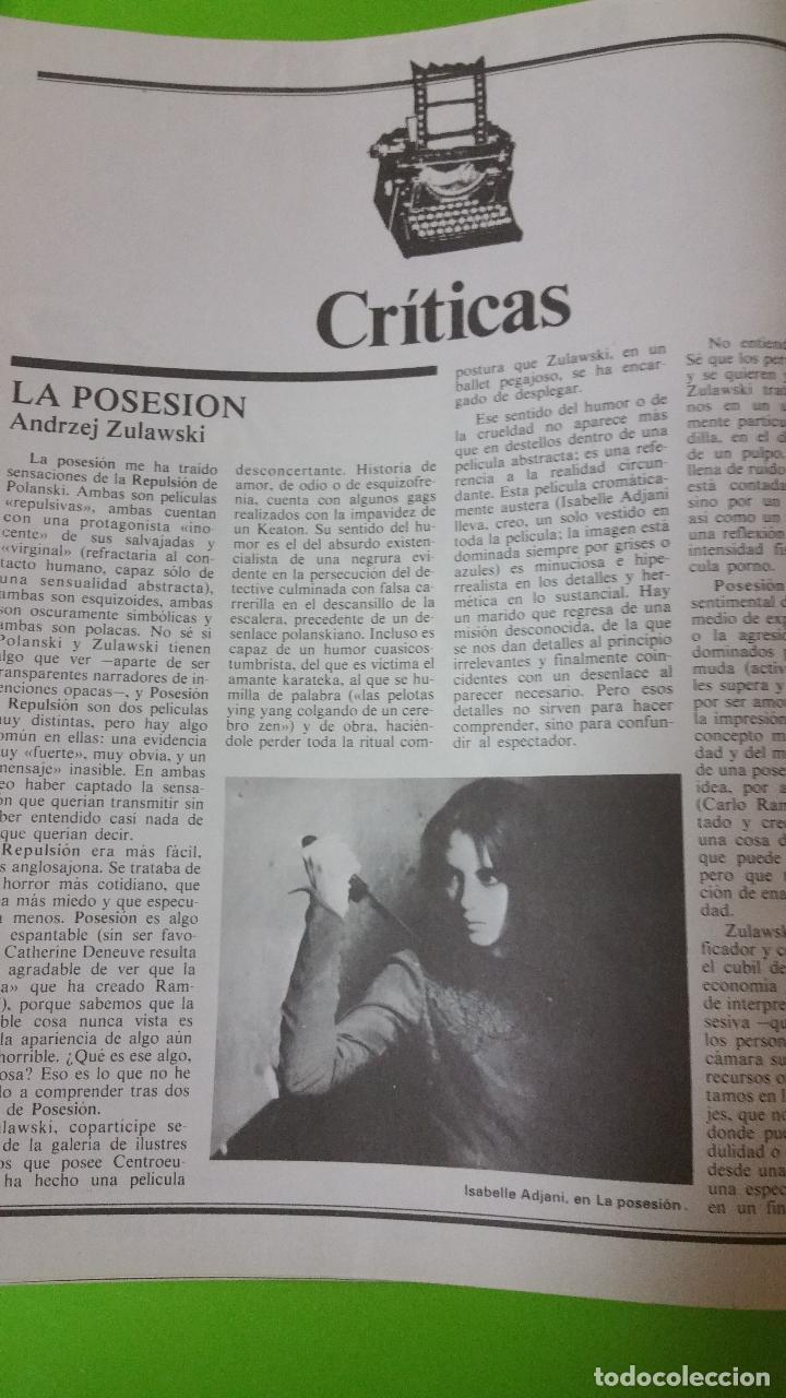 Cine: Casablanca nº 10 de Octubre de 1981 con Louis Malle, Kris Kristofferson, Öscar Ladoire, etc - Foto 10 - 72769663