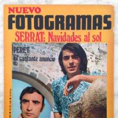 Cine: REVISTA FOTOGRAMAS - Nº 1106 - 1969 - SERRAT, JOHN LENNON Y YOKO, CAROL WHITE, PERET, LLUIS LLACH. Lote 72803623