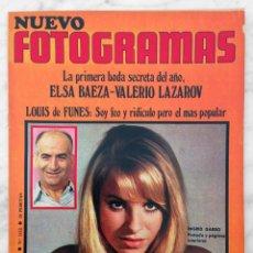 Cine: REVISTA FOTOGRAMAS - Nº 1112 - 1970 - INGRID GARBO, MARTIN RITT, LOUIS DE FUNES, ELSA BAEZA, SMASH. Lote 72804891